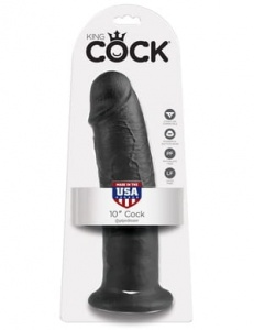 "King Cock 25 cm/10"" Cock black"