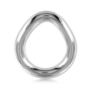 Stainless Steel Flared Cock Ring - small 37 mm