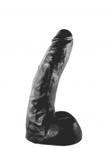 All Black AB63 Dildo 22 cm