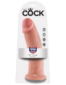 "King Cock 25 cm/10"" Cock flesh"