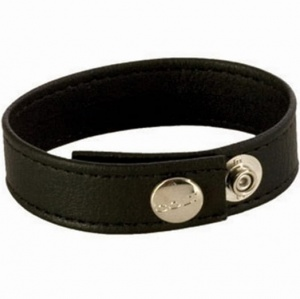 Colt Leather Cock/Ball Strap Adjustable 3-Snap
